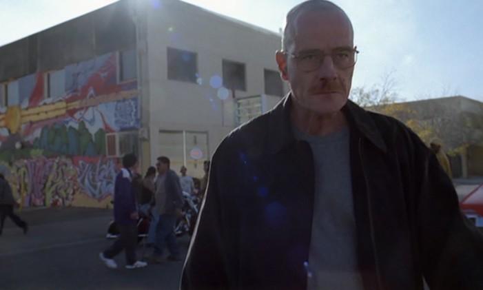 """Heisenberg em """"Breaking Bad"""" Foto: Reprodução"""