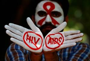 Objetivo é acabar com a epidemia de Aids até 2030 Foto: Ajay Verma / REUTERS