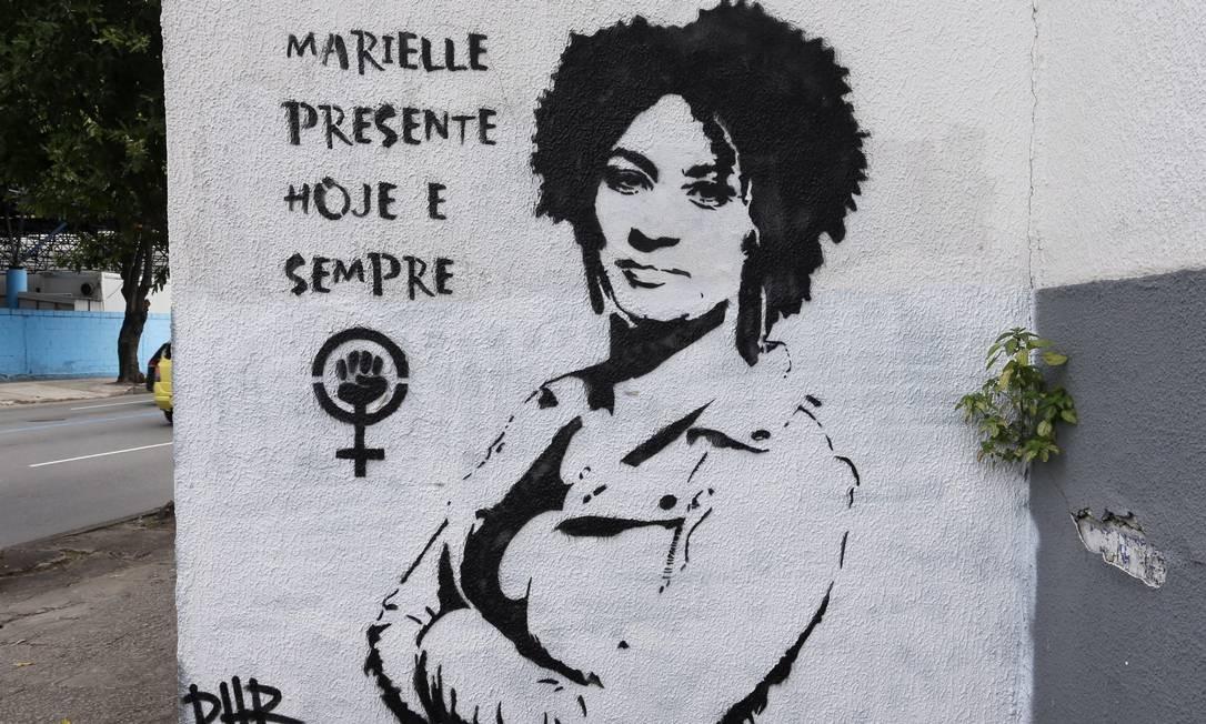 Dia 14 de março será Dia Marielle Franco contra o genocídio da mulher negra Foto: Guilherme Pinto 08-06-2018 / Agência O Globo