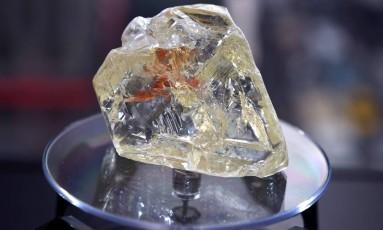 Os desejados diamantes podem não ser tão raros como se pensava Foto: TIMOTHY A. CLARY / AFP