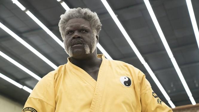 Shaquille O'Neal em cena do filme 'Tio Drew' Foto: Divulgação