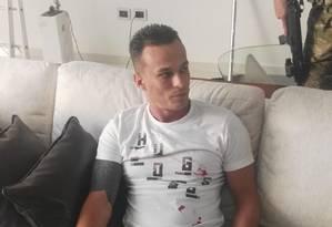 Eduardo de Almeida foi preso com documentos falsos Foto: Senad