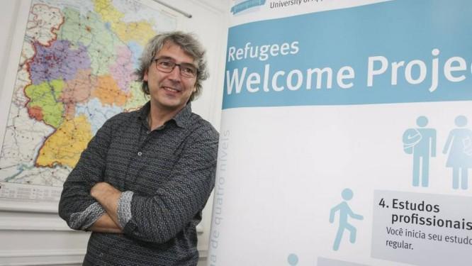 Matthias Schmidt, responsável pelo programa alemão