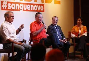O advogado Marcelo Trindade (Novo) lançou a sua pré-candidatura a governador do Rio de Janeiro Foto: divulgação
