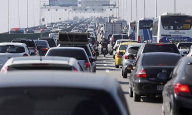 Número de vítimas de acidentes no trânsito no Rio em 2017 é menor do que no ano anterior Foto: Pablo Jacob / Agência O Globo - 14/07/2018