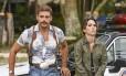 Tatá Werneck e Cauã Reymond no filme 'Uma quase dupla' Foto: Divulgação