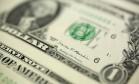 Dólar, a moeda oficial dos Estados Unidos Foto: Bloomberg News