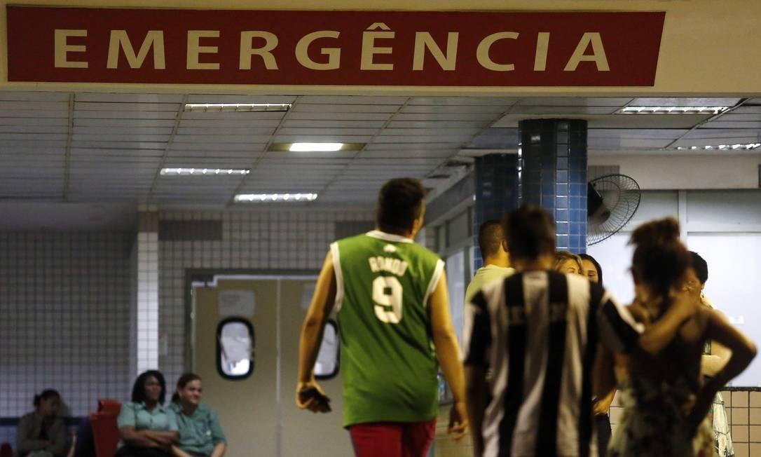 Emergência do Hospital Municipal Salgado Filho, no Méier, Zona Norte do Rio Foto: Marcos de Paula 30-04-2018 / Agência O Globo