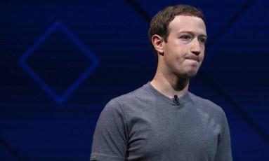 Judeu, Mark Zuckerberg foi criticado por ONG que luta contra o antissemitismo Foto: AFP