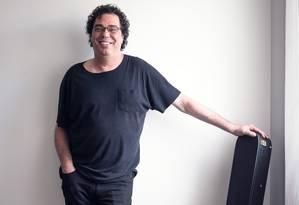 O ex-jogador de futebol e comentarista Walter Casagrande Foto: Ramon Vasconcelos/Rede Globo
