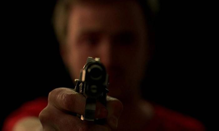 Jesse mata em Gale em Breaking Bad Foto: Divulgação