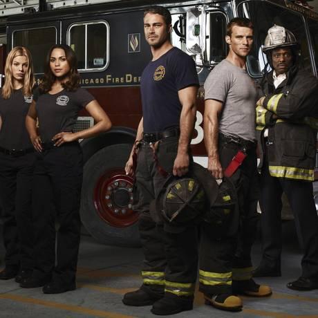 """Elenco da série """"Chicago Fire"""" Foto: Divulgação"""