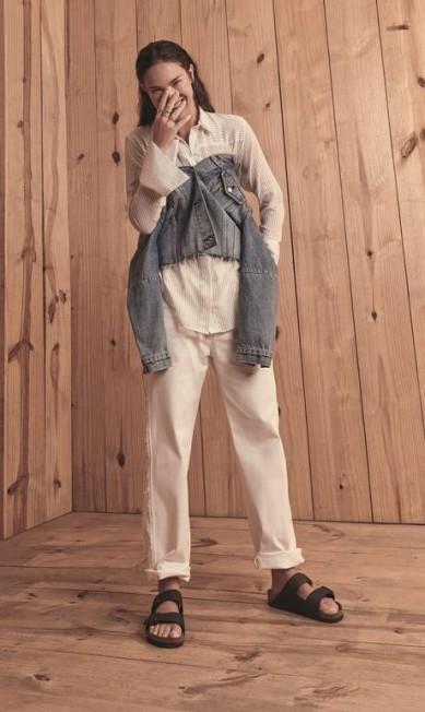 Camisa (R$ 339) Augustana, jaqueta (R$ 350) Levi's e calça (R$ 965) Andrea Marques na Dona Coisa Thais Vandanezi