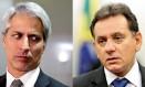 Alessandro Molon e Nilson Leitão Foto: Fatima Meia/Futura Press / Marcelo Camargo/Agência Brasil