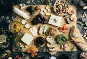 Tábua de queijos da Nomoo Foto: Divulgação