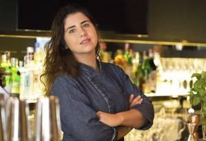 Monique Gabiatti é chef-executiva do Ojo Foto: Emily Almeida / Agência O Globo