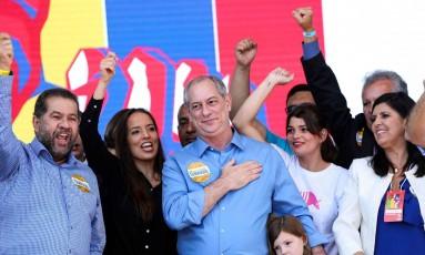 Ciro gomes será oficializado candidato à Presidência pelo PDT Foto: MARCELO CAMARGO / AFP