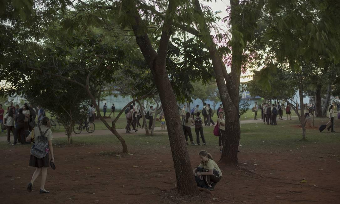 O Ministério da Educação acompanha à distância a militarização das escolas promovida por governadores e prefeitos Foto: Daniel Marenco / Agência O Globo