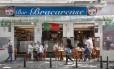 Bracarense. Inaugurado em 1961, o bar hoje é administrado pelo neto do fundador: as antigas receitas ainda fazem sucesso, diz o dono Foto: Ana Branco / Agência O Globo
