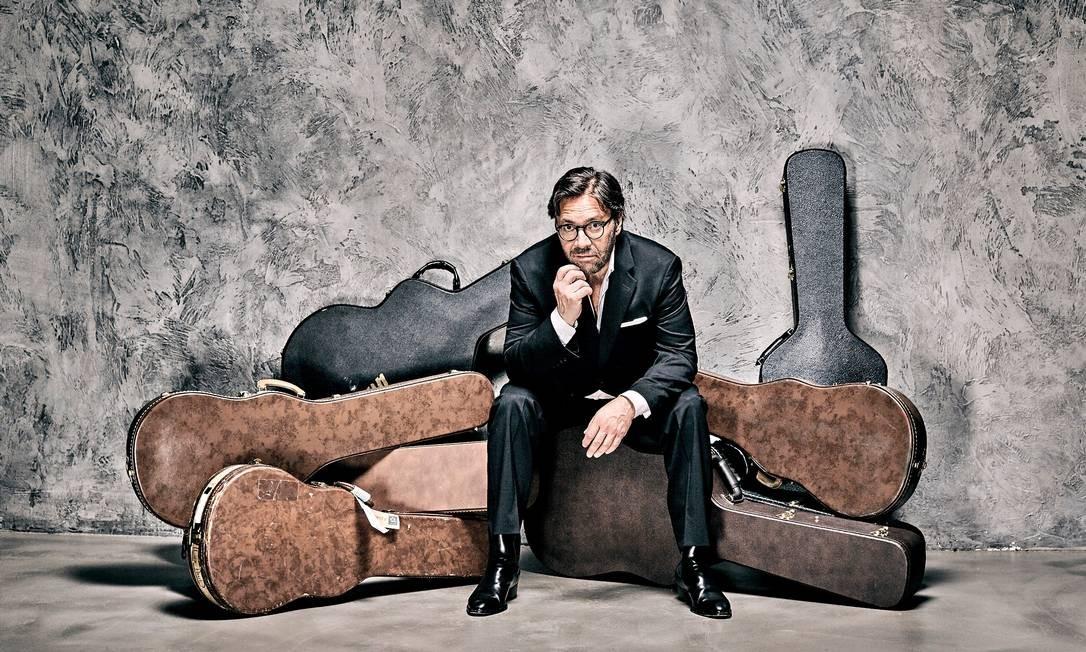O guitarrista americano Al Di Meola Foto: Divulgação