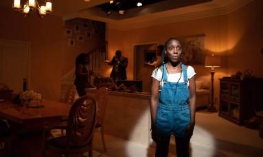"A atriz MaYaa Boateng em cena de ensaio de ""Fairview"", de Jackie Sibblies Drury Foto: EMON HASSAN / The New York Times"