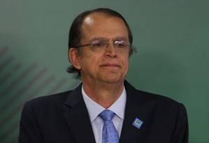 Caio Vieira de Mello toma posse como ministro do Trabalho, no Palácio do Planalto Foto: Givaldo Barbosa/Agência O Globo/10-07-2018