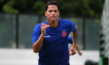 Giovanni Augusto ainda não marcou neste Brasileiro Foto: Paulo Fernandes / Paulo Fernandes/Vasco/Divulgação