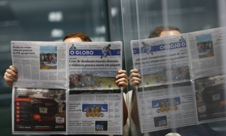 O GLOBO lança no próximo domingo seu novo projeto gráfico Foto: Uanderson Fernandes/ Agência O Globo