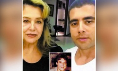 O médico Denis Furtado e a mãe, Maria de Fátima Foto: Reprodução