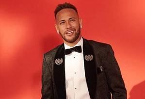 Neymar usa Dolce & Gabbana Foto: Reprodução/ Instagram