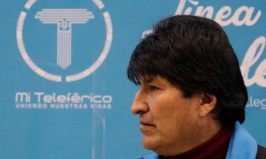 Presidente boliviano, Evo Morales tenta um quarto mandato consecutivo Foto: DAVID MERCADO / REUTERS