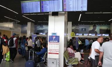 Aeroporto Internacional Juscelino Kubitschek, em Brasília, em imagem de maio de 2018. Foto: Givaldo Barbosa / Agência O Globo