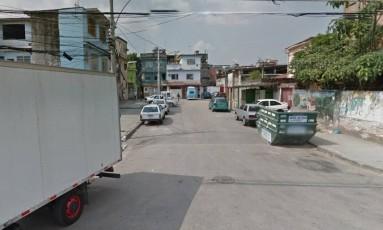 Rua sem saída onde ambulante foi morto Foto: Reprodução