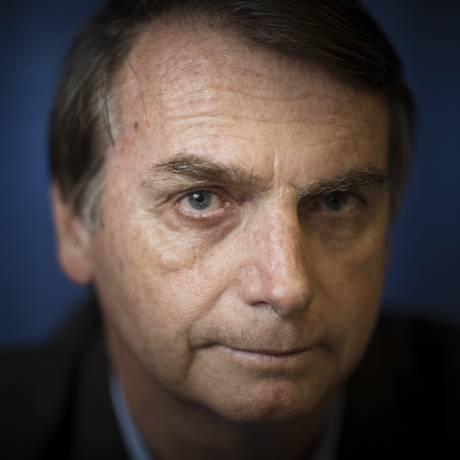 Jair Bolsonaro afirma que não entende de economia Foto: Leo Martins / Agência O Globo