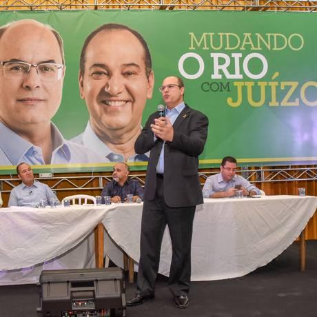 Wutzel é o candidato do PSCao governo do estado Foto: Divulgação