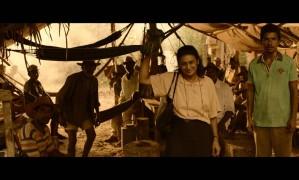 """Dira Paes nas gravações do filme """"Pureza"""", inspirado na vida de Pureza Lopes Loyola, que percorreu fazendas com trabalho escravo para encontrar o filho Foto: Felipe Reinheimer / Divulgação"""