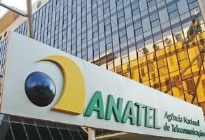 Fachada da Anatel, agência reguladora telecomunicações. Foto: Divulgação