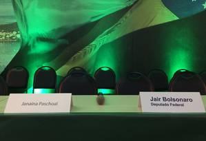 Convenção do PSL lança Bolsonaro como candidato à Presidência neste domingo Foto: Marco Grillo