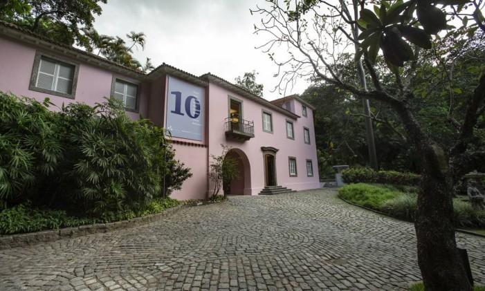 A Casa Roberto Marinho inaugura para o público no dia 28 de abril Foto: Alexandre Cassiano / Agência O Globo