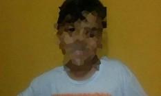 Criança aparece fazendo sinal em defesa de Bolsonaro Foto: Acervo Pessoal
