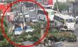 Policiais militares no local do tiroteio Foto: Onde Tem Tiroteio-RJ