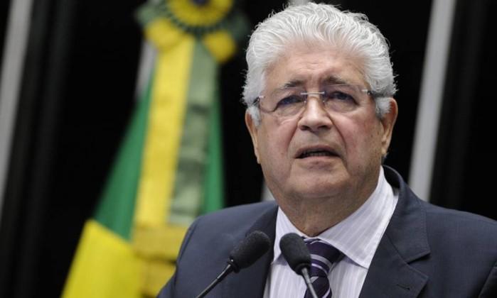 O senador Roberto Requião Foto: Pedro França / Agência Senado