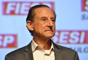 Paulo Skaf, pré-candidato ao governo de São Paulo pelo MDB Foto: Roberto Casimiro/Fotoarena / Agência O Globo / Agência O Globo