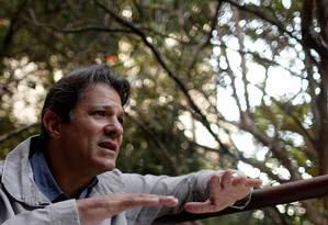 O ex-prefeito de São Paulo Fernando Haddad Foto: Leonardo Benassatto / Reuters