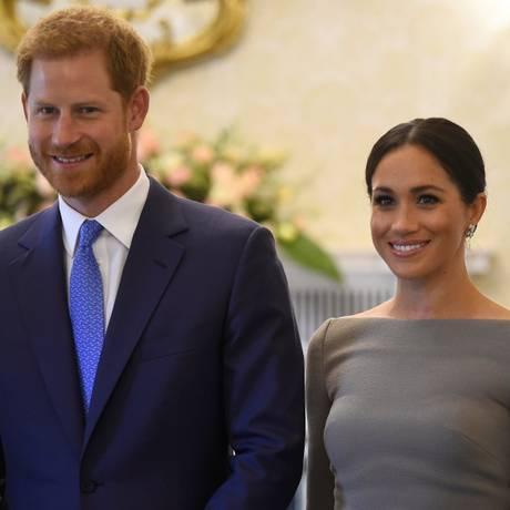 Harry e Meghan Foto: CLODAGH KILCOYNE / REUTERS