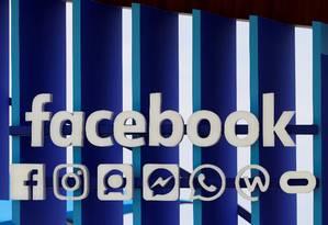 Logotipo do Facebook Foto: Eric Gaillard / REUTERS