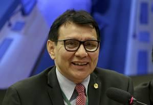 Franklimberg Ribeiro de Freitas participa de debate na Câmara dos Deputados Foto: Wilson Dias/Agência Brasil/27-06-2017