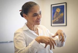 PA São Carlos ( SP ) 24/07/2018 Marina Silva cumpre agenda visitando radios e startup no interior de São Paulo . Foto: Edilson Dantas / Agencia O Globo Foto: Agência O Globo