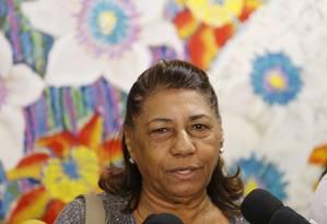 A advogada Marinete da Silva, mãe de Marielle Franco Foto: Pablo Jacob/13-06-2018