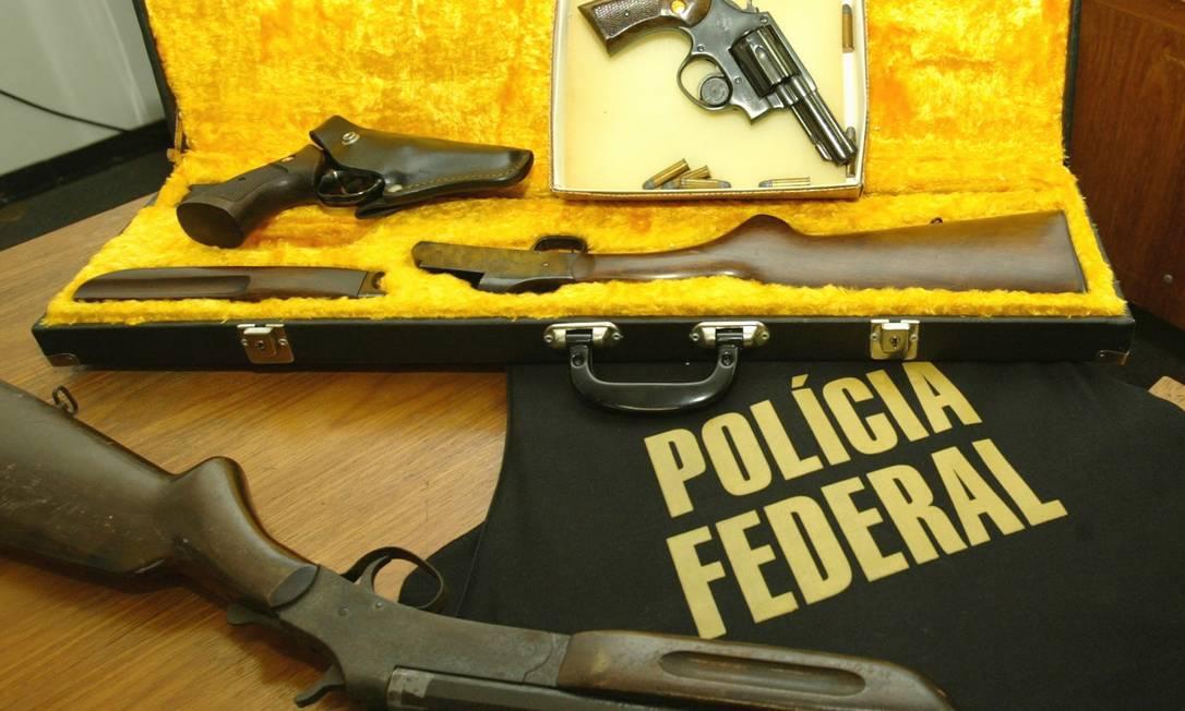 Polícia Federal do Rio lidera ranking nacional de extraviode armas Foto: Givaldo Barbosa / Agência O GLOBO